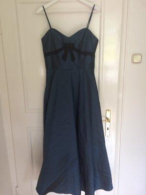 joy & Co Robe de bal noir-bleu foncé