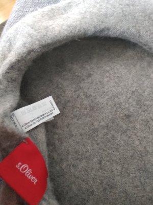 s.Oliver Cappello di lana grigio chiaro