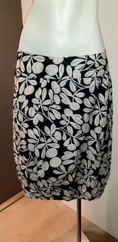 Noa Noa Balloon Skirt white-black