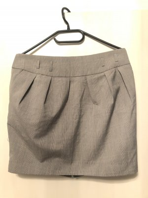 Tally Weijl Balloon Skirt silver-colored-white