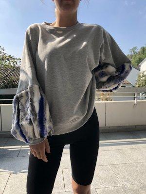 Ballonärmel Pullover