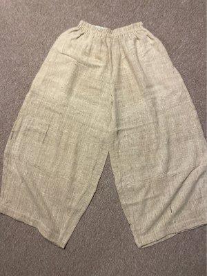 Nahtlos Pantalon en lin crème