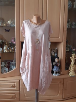 Made in Italy Robe ballon rosé coton