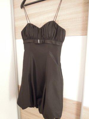 Ballonkleid Abendkleid Cocktailkleid schwarz Kleid Magic Nights Größe 40 Spaghettiträger Brosche Strass