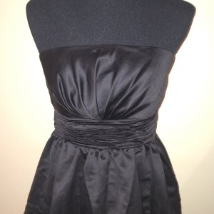 Vila Balloon Dress black