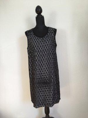 Riani Robe ballon noir-blanc polyester