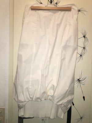 Falda globo blanco Algodón