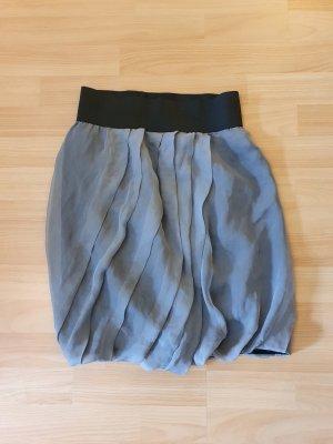 Spódnica w kształcie tulipana czarny-szary