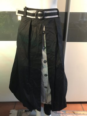 Bufin Falda globo negro-blanco