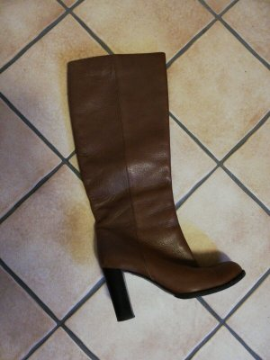 Bally 1851 Stiefel Gr. 37,5 braun Echtes Leder