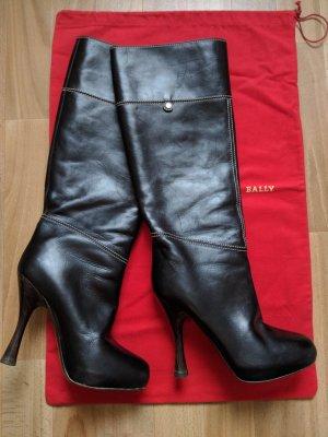 Bally Absatz Stiefel schwarz Casual-Look