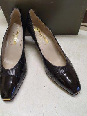 Bally bellezza Pumps schwarz Leder, Gr. 42,5, ungetragen und OVP