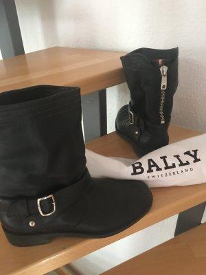 Bally Low boot noir cuir