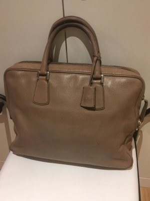 Bally Aktentas beige