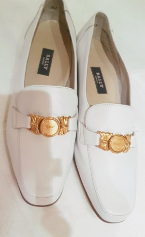 Bally Foldable Ballet Flats white