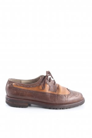 Bally Derby brown-light orange business style
