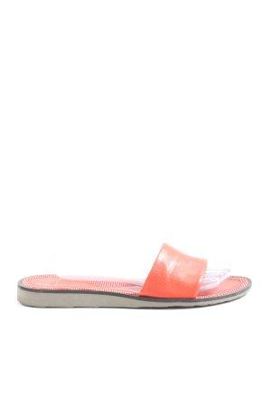 Bally Wygodne sandały czerwony W stylu casual