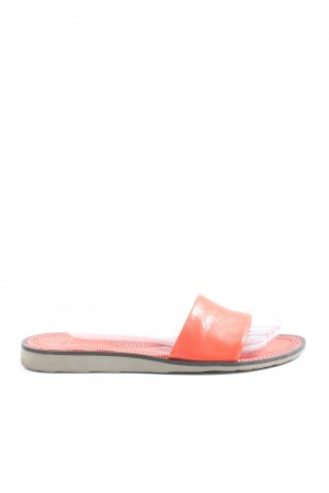 Bally Komfort-Sandalen rot Casual-Look