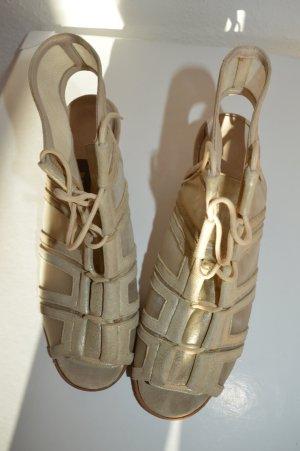 Bally Sandalias Dianette color oro Cuero