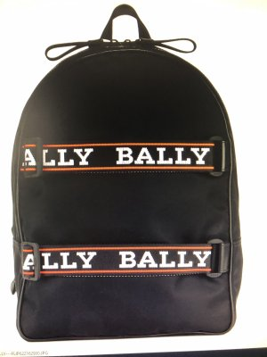 Bally Laptop Backpack black