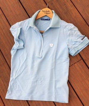 Bally Golf Polo Shirt azure
