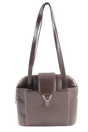 Bally Handtasche braun Business-Look