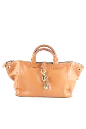 Bally Handtasche hellorange Business-Look