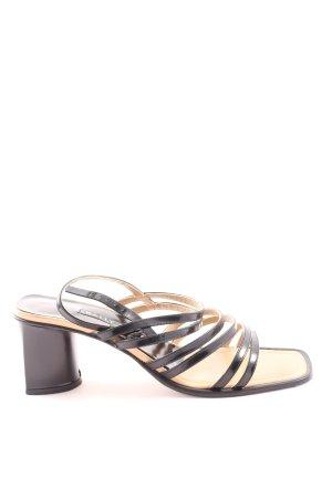 Bally High Heel Sandaletten schwarz Casual-Look
