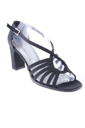 Bally High Heel Sandaletten schwarz Elegant
