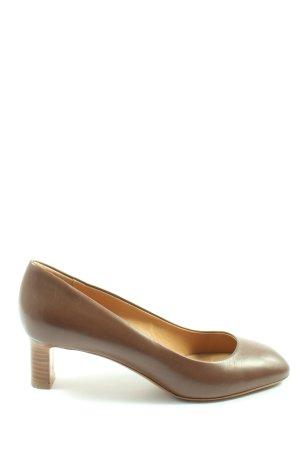 Bally High Heels braun Business-Look