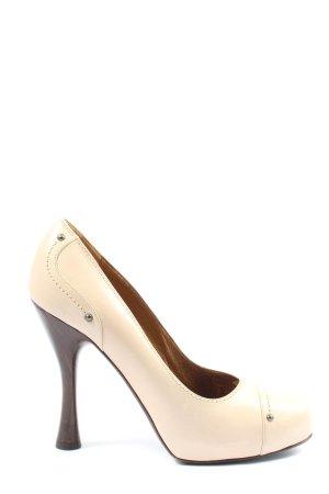 Bally High Heels creme Casual-Look
