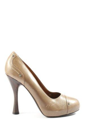 Bally High Heels wollweiß Elegant