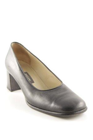 Bally High Heels schwarz Business-Look