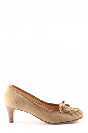 Bally High-Front Pumps natural white casual look