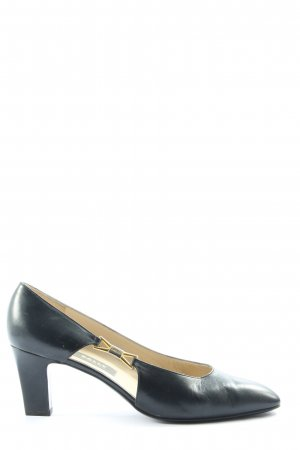 Bally Spitse pumps blauw casual uitstraling