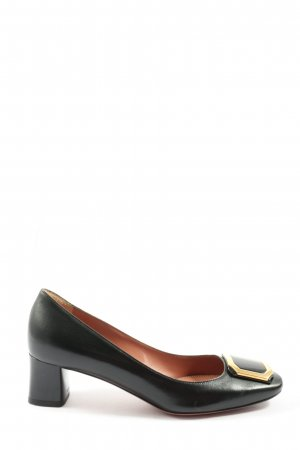 Bally High-Front Pumps black business style
