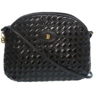 Bally Intrecciato Shoulder Bag
