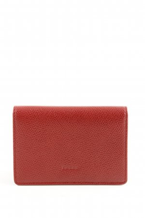 Bally Porte-cartes rouge style d'affaires