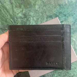 BALLY SUISSE Card Case black