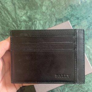 BALLY SUISSE Custodie portacarte nero