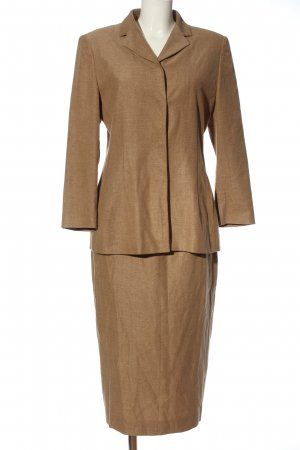 Bally Ladies' Suit brown weave pattern business style