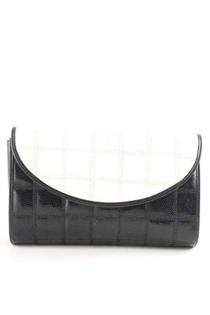 Bally Minitasche schwarz-weiß Casual-Look