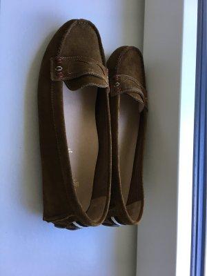 Bally Mocasines marrón Cuero