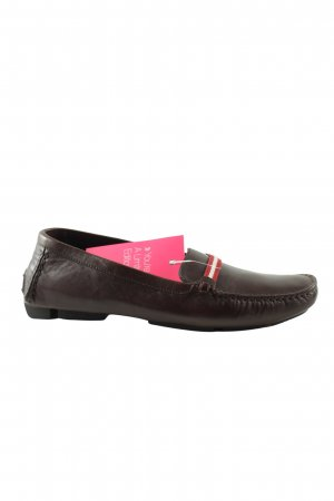 Bally Mocasines marrón look casual