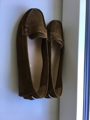 Bally Moccasins brown leather
