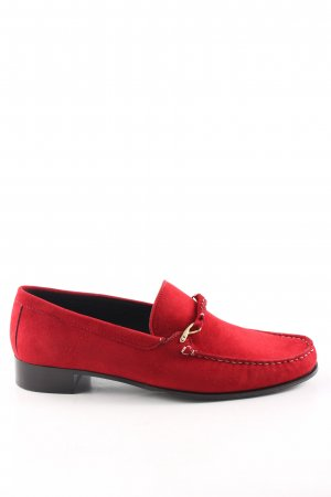 Bally Monks rood casual uitstraling