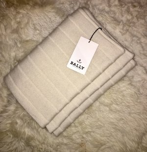 Bally Cashmere Scarf natural white