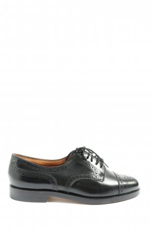 Bally Oxfords black casual look