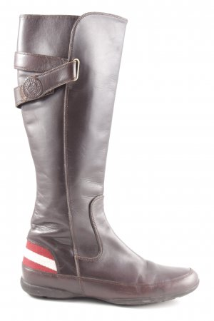 Bally Reitstiefel braun Casual-Look