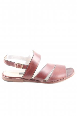 Bally Strapped Sandals brown casual look